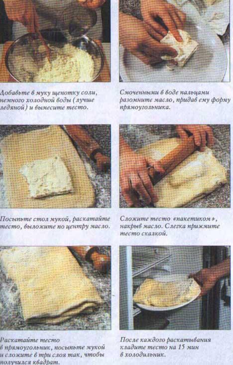 Рецепты из слоеного теста своими руками